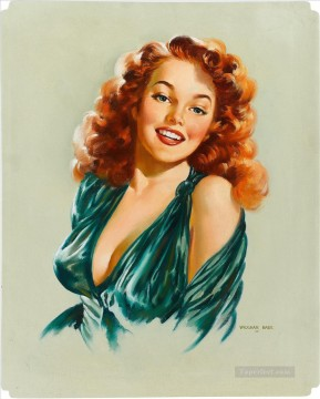 Pin Up Girls gil elvgren 3 Oil Paintings
