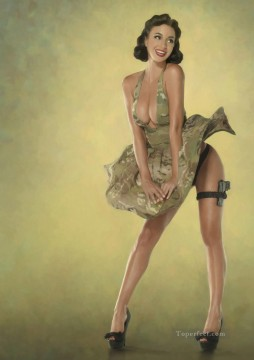 Friends Art - Rosie Jones and friends 201 pin up