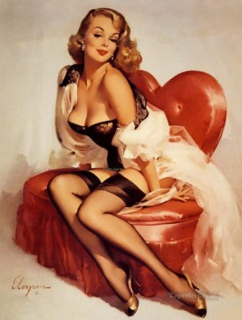 Pin up Painting - pin up ok