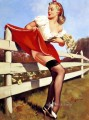vintage pin up girls pin up gil elvgren