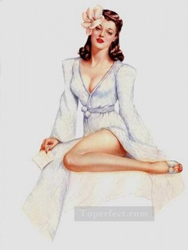 women Painting - nd0423GD realistic from photos women nude pin up