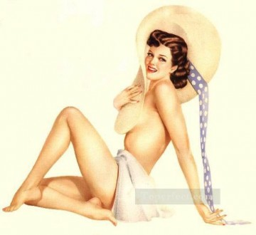 women Painting - nd0428GD realistic from photos women nude pin up