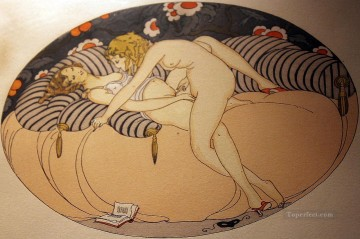 Lesbian Sex Gerda Wegener Erotic Adult Oil Paintings