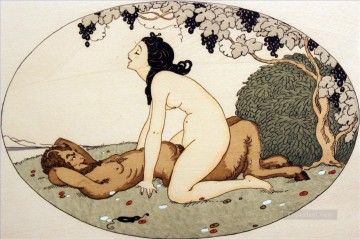 Make Love under Tree Gerda Wegener Erotic Adult Oil Paintings