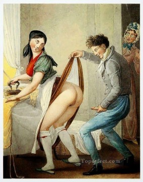 sexual deco art - NO MEMORY Georg Emanuel Opiz caricature Sexual