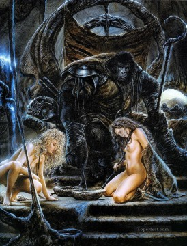 planet of the apes iii sexy nude Oil Paintings