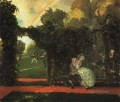 the laughed kiss 1909 Konstantin Somov sexual naked nude