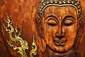 Buddha head in fire Buddhism