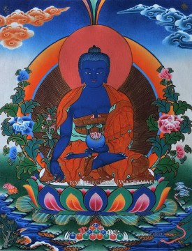Medicine Buddha Buddhism Oil Paintings