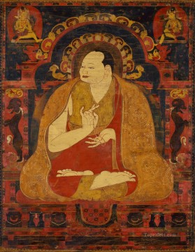 Buddhist Painting - Portrait of a Lama Buddhism
