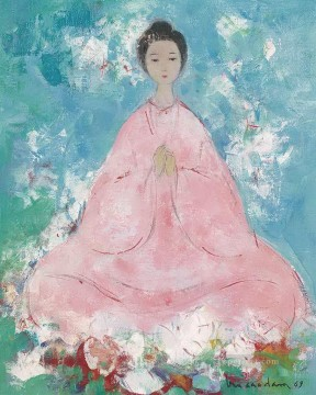 VCD Divinite Asian Buddhism Oil Paintings