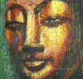 buddha head golden powder Buddhism
