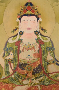 Buddha Chinese Buddhism Oil Paintings
