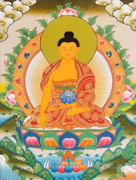 Gautam Buddha Tibetan Buddhism Oil Paintings