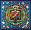 Blue Golden Mandala Buddhism