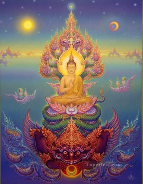 Land of Infinite Possibilities CK Buddhism Oil Paintings