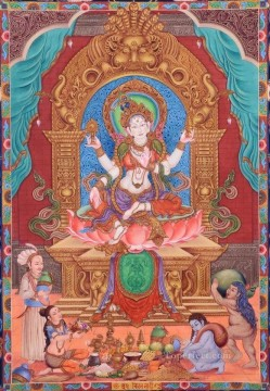 Lakshmi Devi Buddhism Oil Paintings