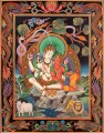 Superfine Shiva Parvati Tibetan Buddhist Thangka Painting Without Brocade Buddhism