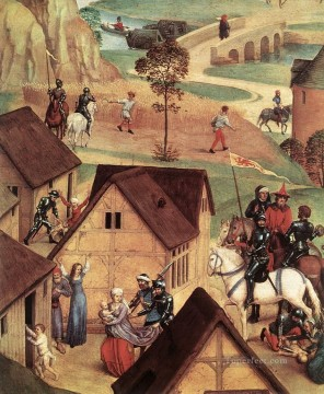 Advent and Triumph of Christ 1480detail1 religious Hans Memling Oil Paintings