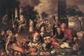 Christ And The Adulteress Dutch historical painter Pieter Aertsen