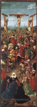 Crucifixion Jan van Eyck religious Christian Oil Paintings