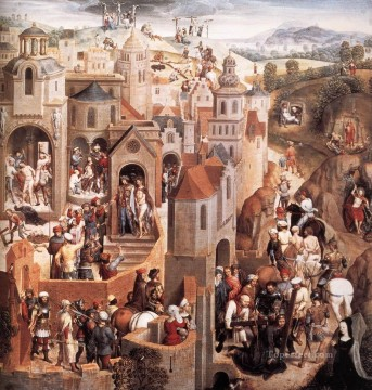 Scenes from the Passion of Christ 1470detail2 religious Hans Memling Oil Paintings