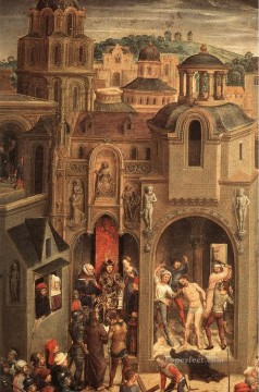 Scenes from the Passion of Christ 1470detail4 religious Hans Memling Oil Paintings