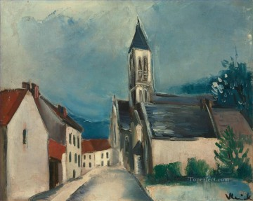 route Works - CHURCH ROUTE Maurice de Vlaminck Christian Catholic