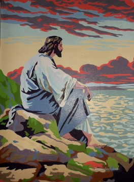 Jesus pop religious Christian Oil Paintings