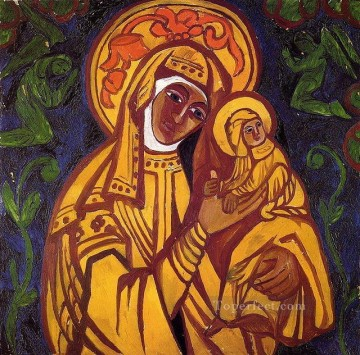 Madonna and Child Christian catholic Oil Paintings