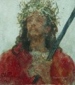 jesus in a crown of thorns 1913 Ilya Repin religious Christian