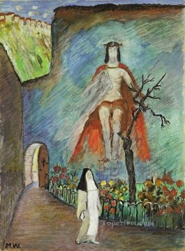 sister Marianne von Werefkin Christian Catholic Oil Paintings