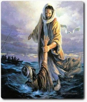 jesus christ Painting - All Things Heavenly jesus religious Christian