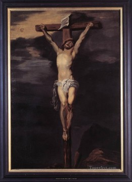 baptism of christ Painting - Christ on the Cross biblical Anthony van Dyck
