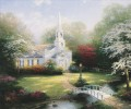 Hometown Chapel Thomas Kinkade church