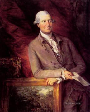 James Christie portrait Thomas Gainsborough Oil Paintings