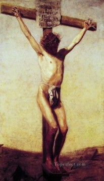 The Crucifixion religious Thomas Eakins religious Christian Oil Paintings