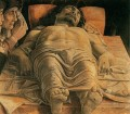 The dead Christ painter Andrea Mantegna