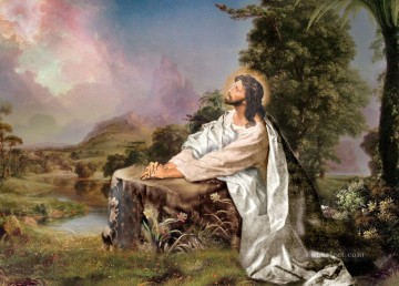 jesus vigilanca religious Christian Oil Paintings