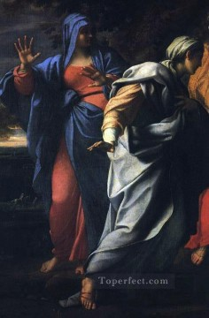 Holy Women at the Tomb of Christ detail religious Annibale Carracci Oil Paintings