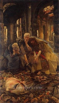 Inner Voices Christ Consoling the Wanderers James Jacques Joseph Tissot Oil Paintings