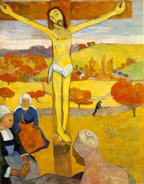 jesus christ Painting - Le Christ jaune The Yellow Christ Paul Gauguin