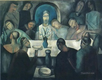 jesus Art - The Last Supper of Jesus Andre Derain religious Christian