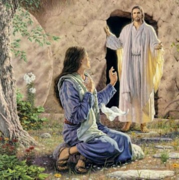 jesus resurrected religious Christian Oil Paintings