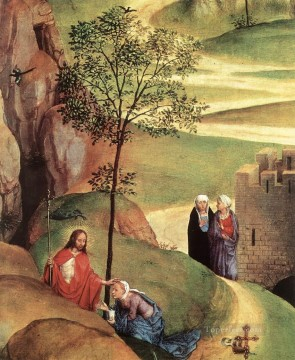 Artworks in 150 Subjects Painting - Advent and Triumph of Christ 1480detail2 religious Hans Memling