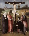 BOSCH Hieronymus Crucifixion With A Donor Rococo Jean Antoine Watteau religious Christian