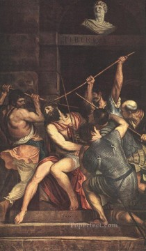 Christ Crowned with Thorns Tiziano Titian Oil Paintings