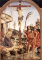 The Crucifixion With Sts Jerome And Christopher religious Christian Pinturicchio