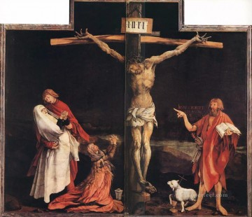 The Crucifixion religious Matthias Grunewald religious Christian Oil Paintings