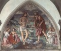 Baptism Of Christ religious Domenico Ghirlandaio